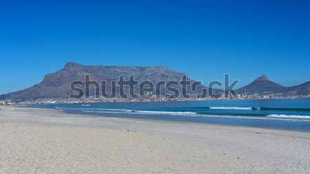 Table Mountain, Cape Town Stock photo © Vividrange