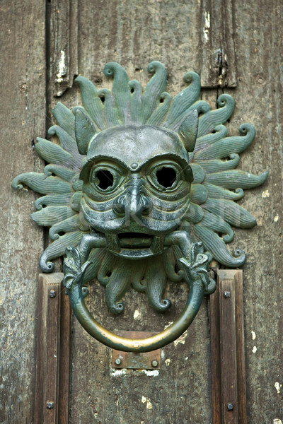 Door Knocker  Stock photo © Vividrange