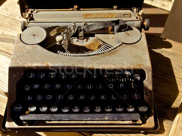 Antique typewriter Stock photo © Vividrange