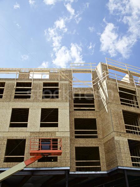 建設現場 建設 建物 サイト 米国 ビジネス ストックフォト © Vividrange