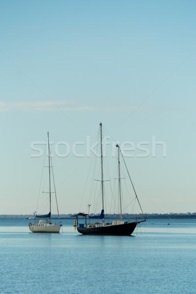 ボート 水 海 夏 海 青 ストックフォト © Vividrange