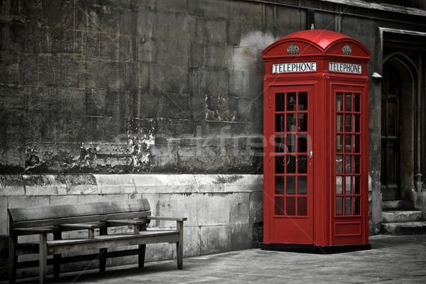 英国の 電話 ブース ロンドン イギリス 建物 ストックフォト © Vividrange