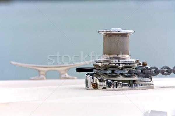 ストックフォト: ボート · 水 · 海 · 旅行 · 船 · 鋼