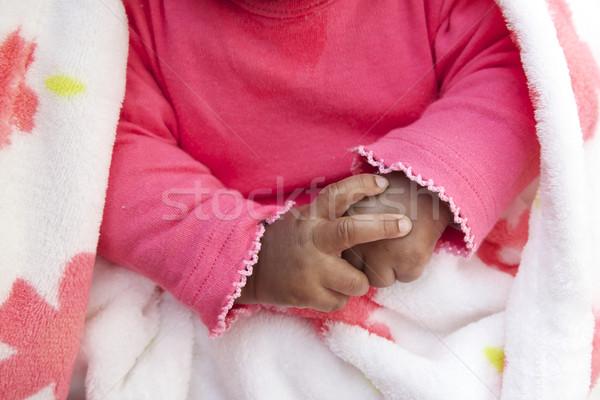 手をつない 娘 少女 手 赤ちゃん ストックフォト © Vividrange
