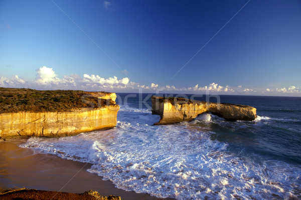 London Bridge and Twelve Apostles in Melbourne Stock photo © Vividrange