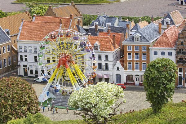 Miniature town scene, Netherlands Stock photo © Vividrange