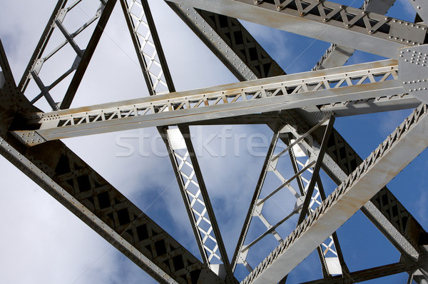Stock photo: Bridge, Construction and Transportation