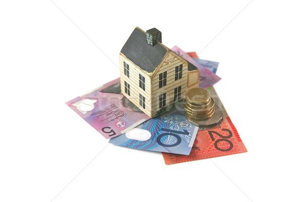 住宅ローン オーストラリア人 家 ローン お金 ホーム ストックフォト © Vividrange