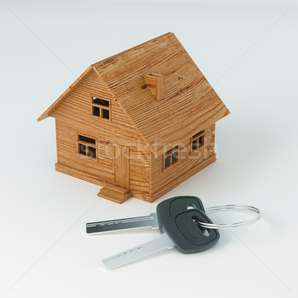3d Illustration For Advertising Real Estate Company Or Lottery Stock photo © vizarch