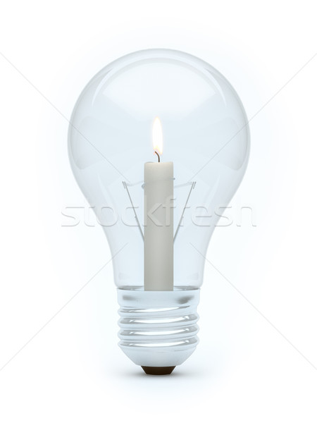 candle bulb Stock photo © vizarch