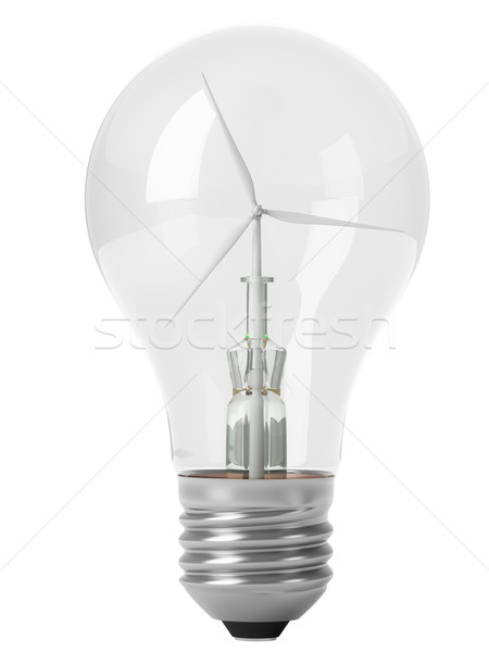renewable energy Stock photo © vizarch