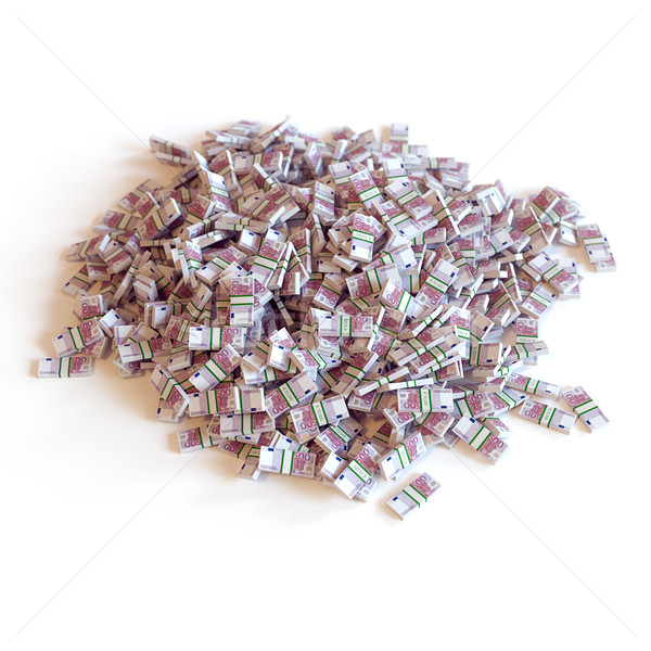 Heap Of Euro Banknotes (The Best Conceptual Business Picture) 2d Stock photo © vizarch