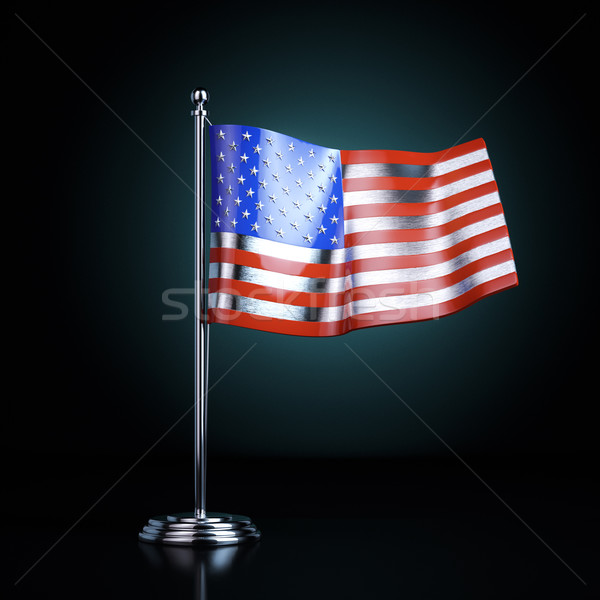 Metal souvenir of the Declaration of Independence United States Stock photo © vizarch