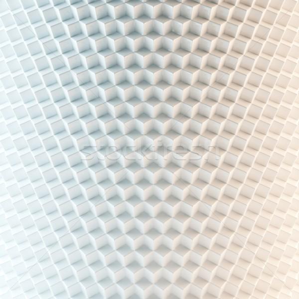 Abstract witte versie muur verf frame Stockfoto © vizarch