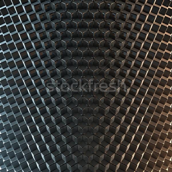 аннотация черный версия текстуры технологий темно Сток-фото © vizarch