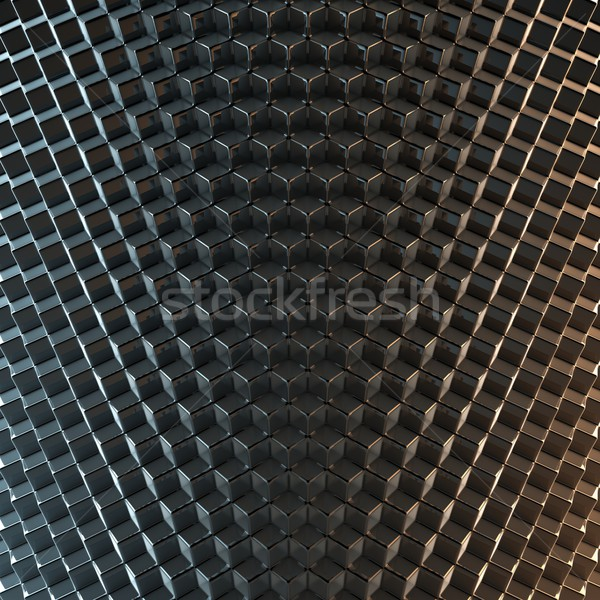 Abstrato preto versão textura tecnologia escuro Foto stock © vizarch