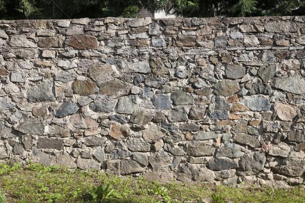 rock stone wall Stock photo © vizualni