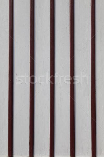 Boyalı ahşap kereste beyaz karanlık kırmızı Stok fotoğraf © vizualni