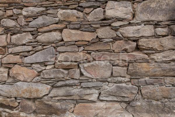 Kaya taşlar duvar doku arka plan uzay Stok fotoğraf © vizualni