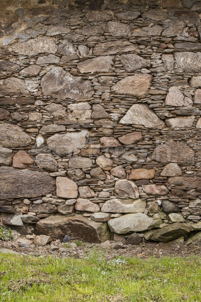 Stockfoto: Rock · stenen · muur · textuur · achtergrond · ruimte
