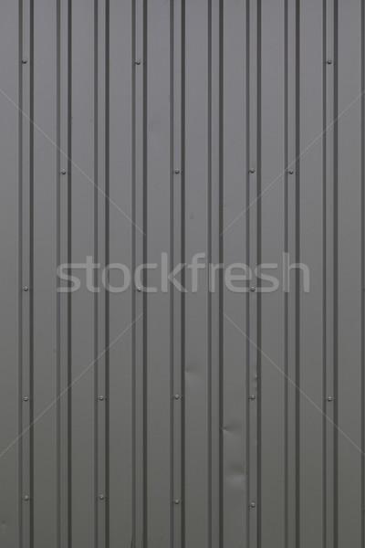 гальванизированный стали лист фасад серый Сток-фото © vizualni