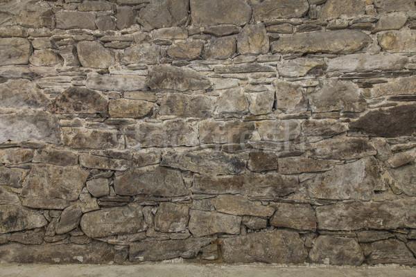 Rock pietre muro texture spazio interni Foto d'archivio © vizualni