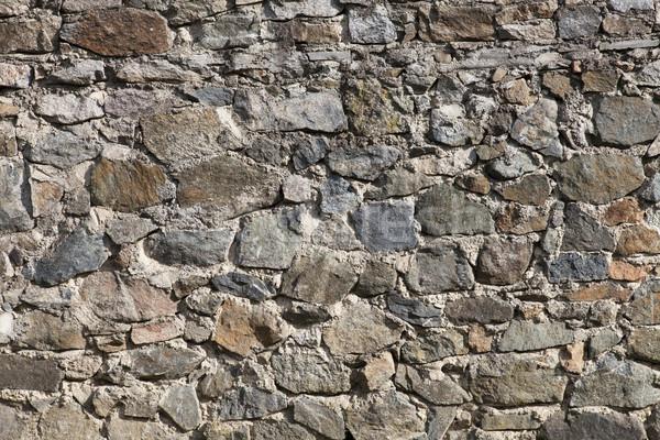 Kaya taş duvar inşaat duvar mimari taşlar Stok fotoğraf © vizualni