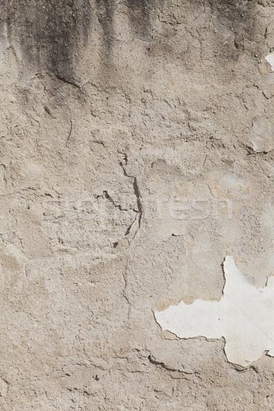 Sıva ev duvar soyulmuş boya Stok fotoğraf © vizualni