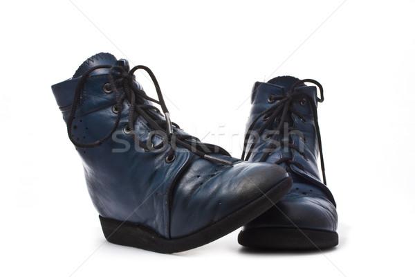 a pair of kid's footwear Stock photo © vkraskouski