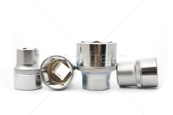 Stock photo: car wrenches