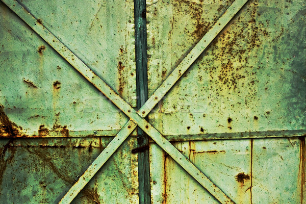 vintage rusty industrial background Stock photo © vkraskouski