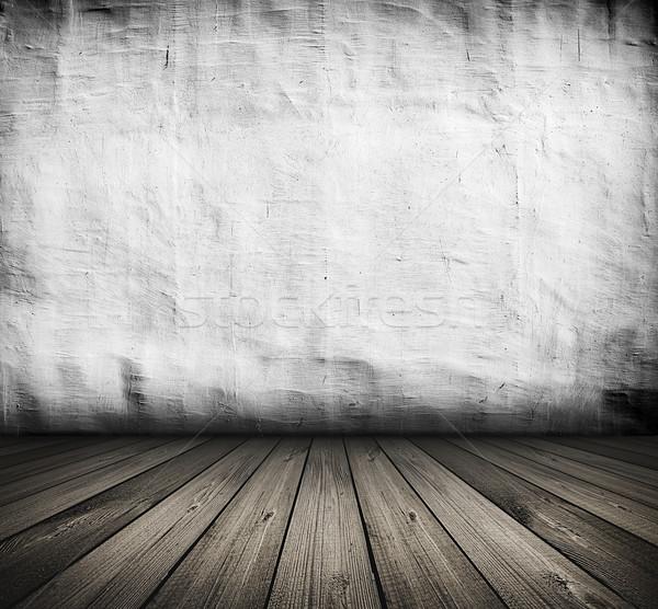 Bağbozumu beyaz iç karanlık oda Stok fotoğraf © vkraskouski