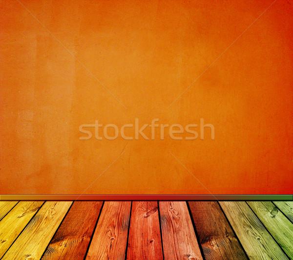 Klasszikus belső épület fal otthon szoba Stock fotó © vkraskouski