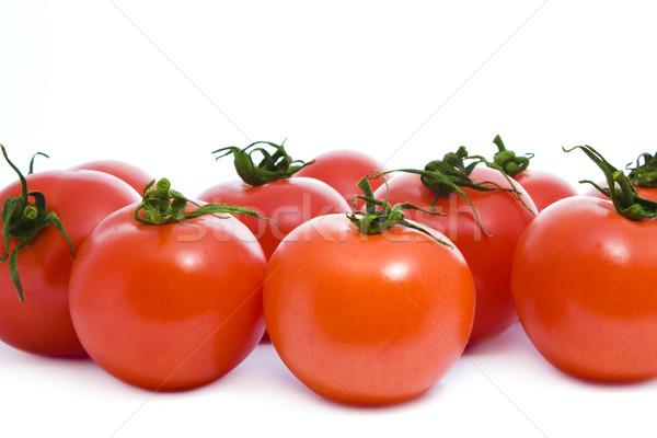 томатный вкусный красный помидоров изолированный белый Сток-фото © vkraskouski