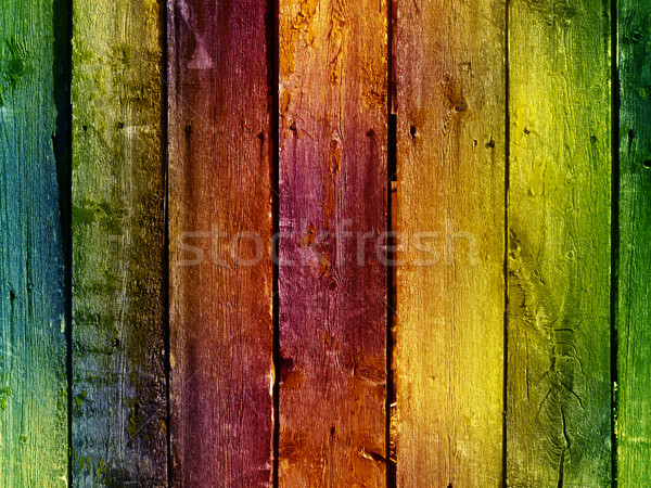 vintage wooden wall Stock photo © vkraskouski