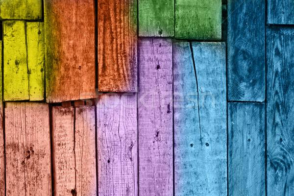 Vintage текстуры дерево строительство стены Сток-фото © vkraskouski