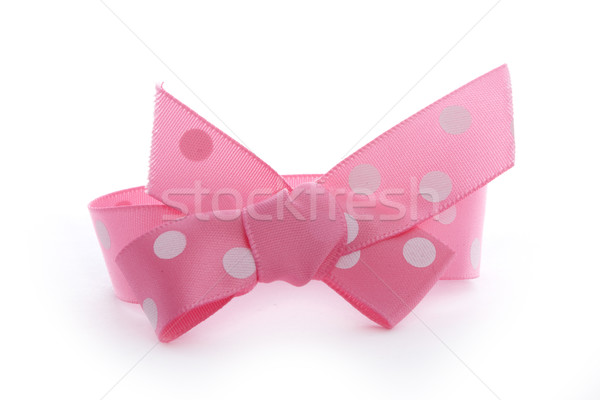 pink bow Stock photo © vkraskouski