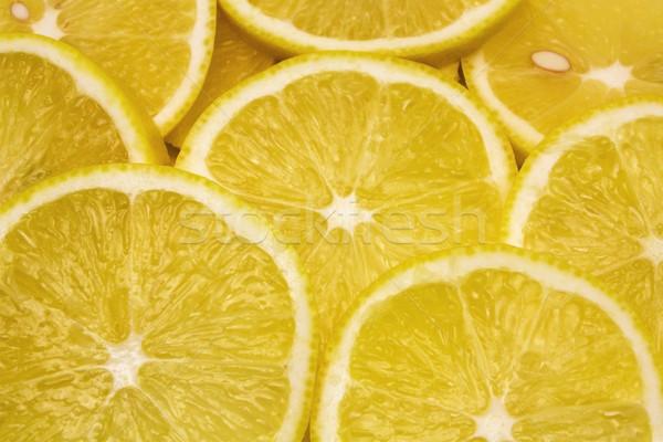 сочный лимона фон группа цвета еды Сток-фото © vkraskouski