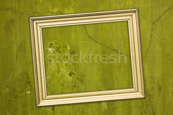 Stock photo: empty frame