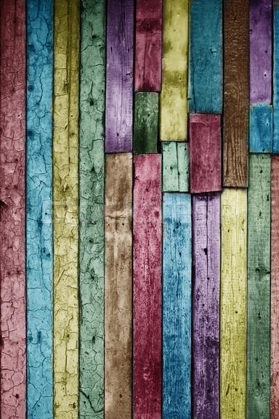Klasszikus fából készült textúra fa fal természet Stock fotó © vkraskouski