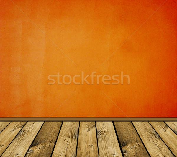 Vintage Rood interieur soortgelijk gebouw Stockfoto © vkraskouski