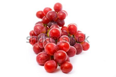 Lédús szőlő piros izolált fehér étel Stock fotó © vkraskouski