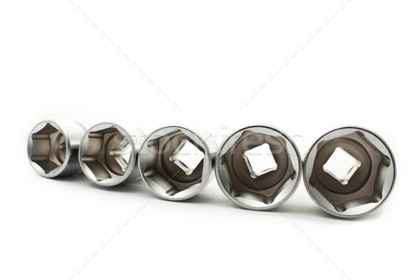 Autó csavarkulcsok építkezés fém szerszámok szerelő Stock fotó © vkraskouski