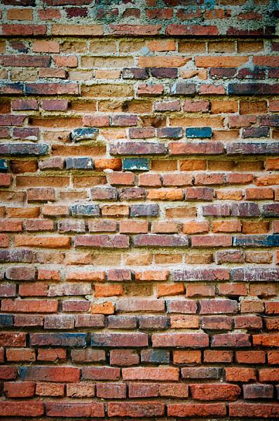 Photo stock: Vintage · rouge · mur · de · briques · bâtiment · urbaine