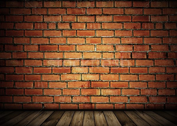 vintage brick wall background Stock photo © vkraskouski