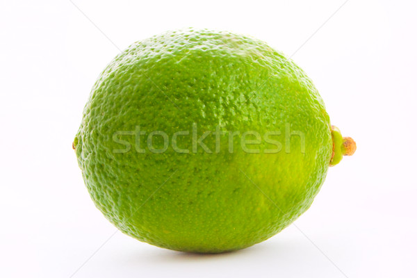 fresh green lime isolated over white Stock photo © vkraskouski