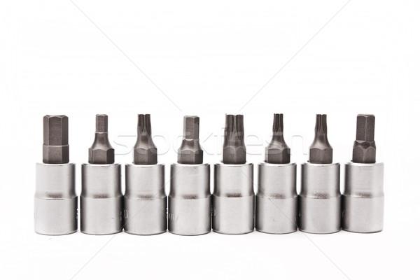 set of wrenches Stock photo © vkraskouski