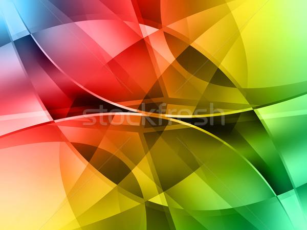 Modern digitális hasonló képek üzlet víz Stock fotó © vkraskouski