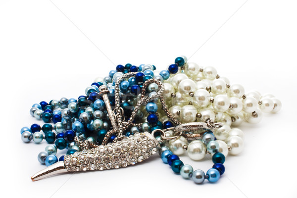 pearl beads Stock photo © vkraskouski