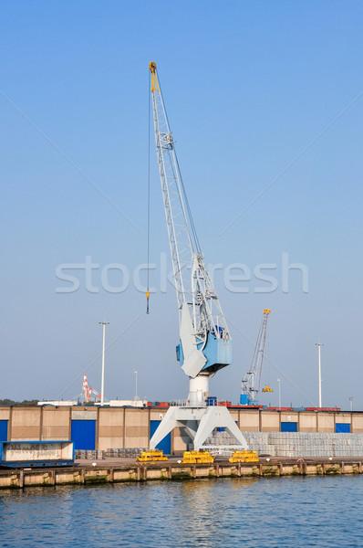 Morza ładunku portu rotterdam wody Zdjęcia stock © vlaru